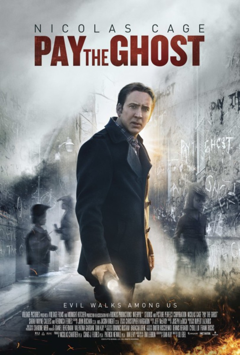 Would a ghost actually pay to see this movie?