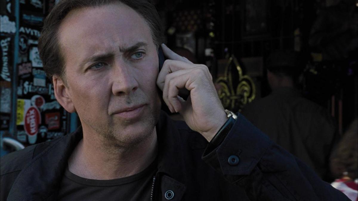 Cage phones it in.