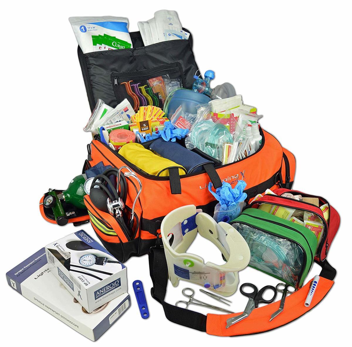 Lightning X Jumbo Stocked EMT Trauma Bag