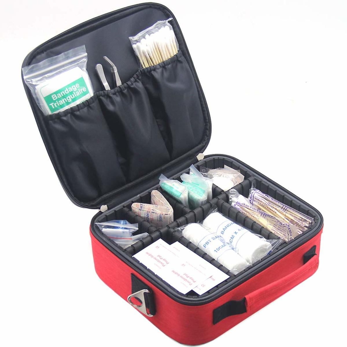 MONSTINA Empty First Aid Kit Bag