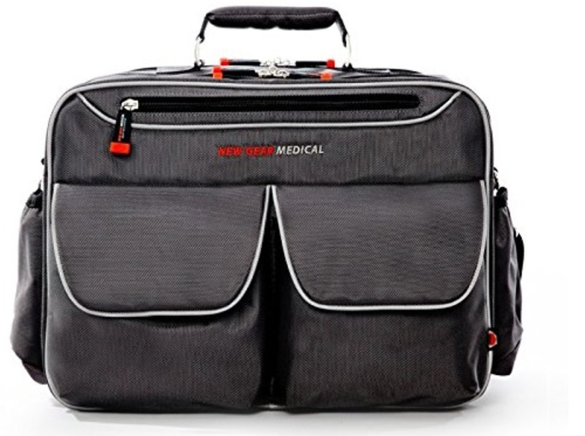 New Gear Medical Antimicrobial Messenger Bag