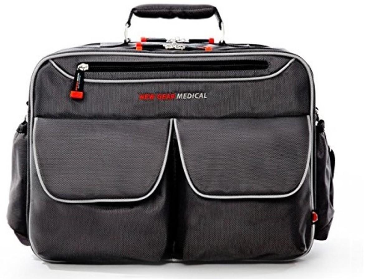 New Gear Medical Antimicrobial Messenger Bag