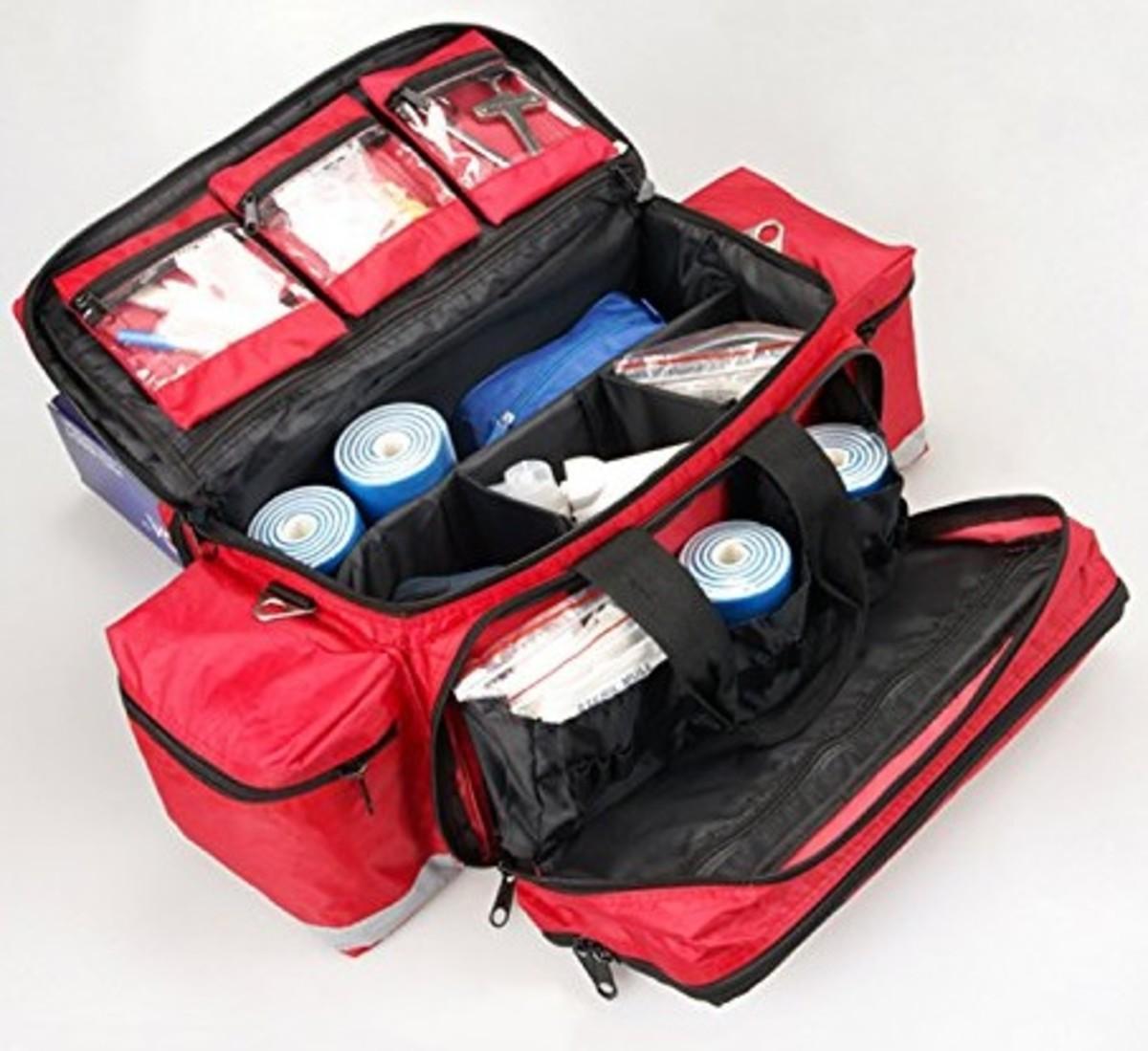 Aurelius Large Capacity Trauma Bag