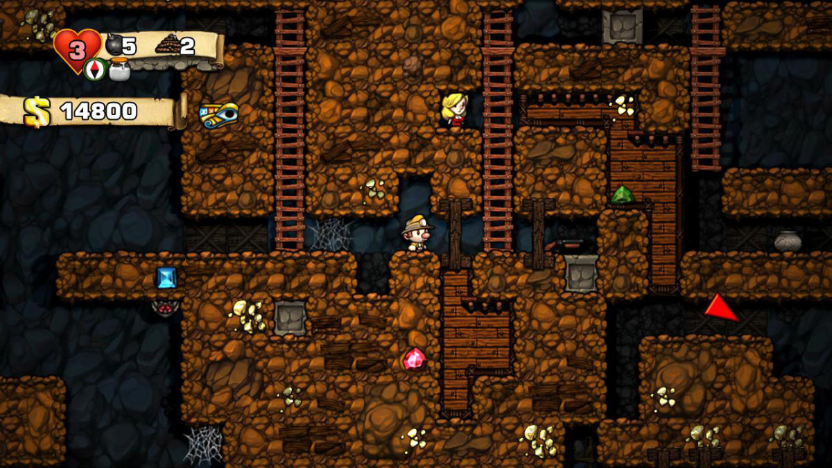 A public domain screenshot of the artistic remake of this incredible game.