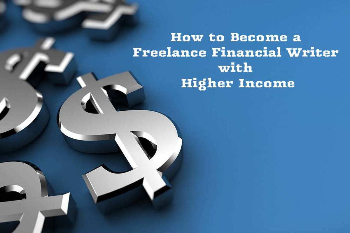 How to Become a Freelance Financial Writer with Higher Income