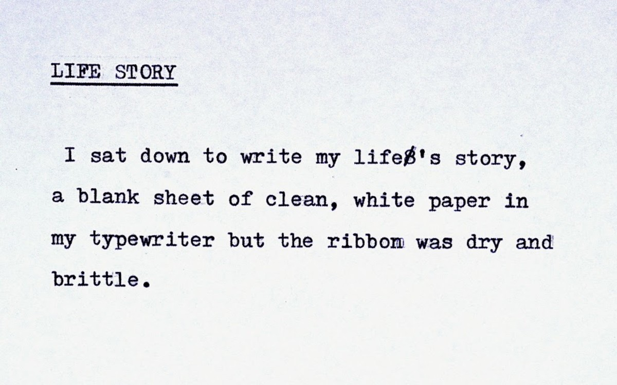 A classic example of Flash Fiction
