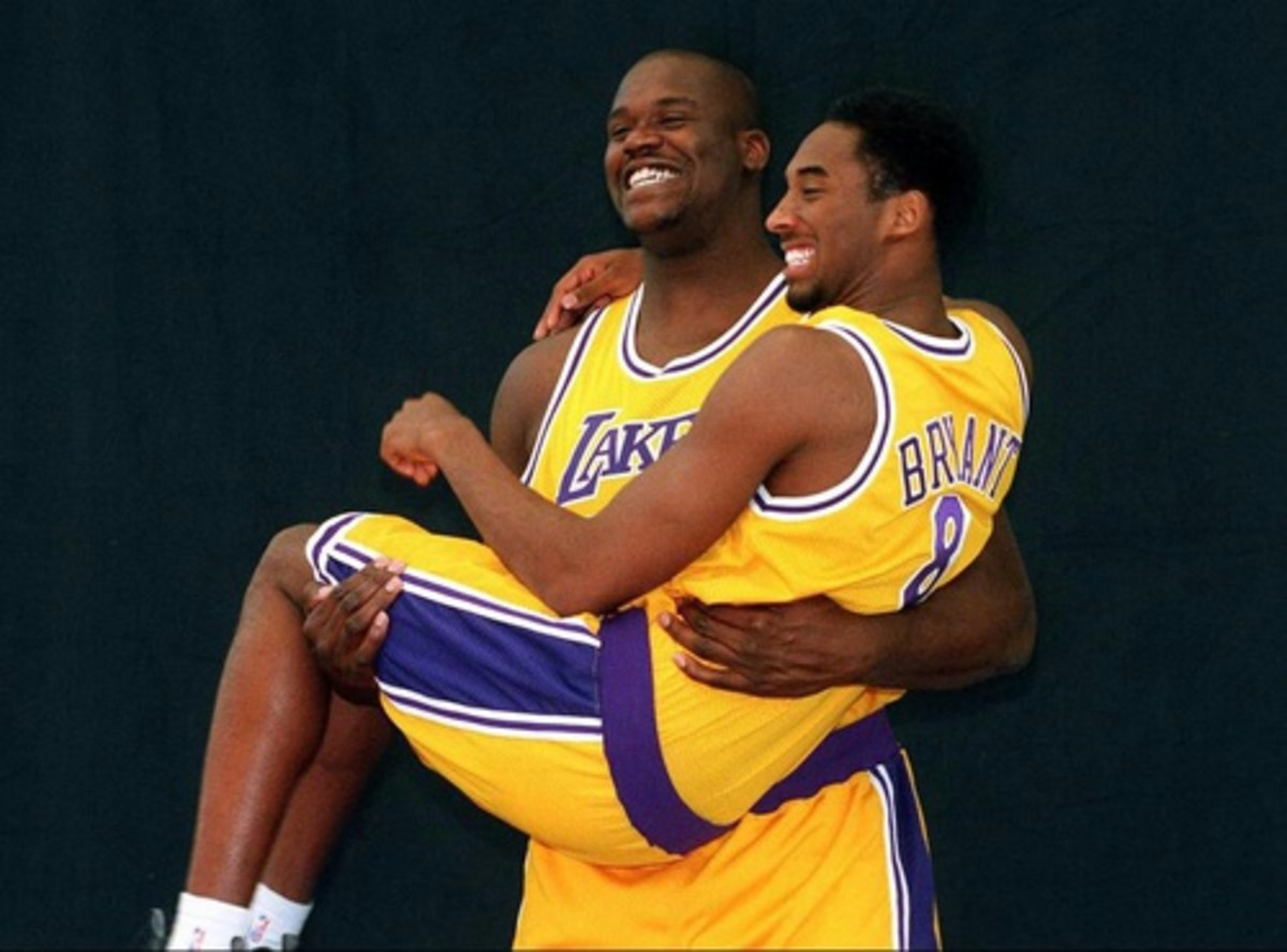 The beginning of Kobe and Shaq