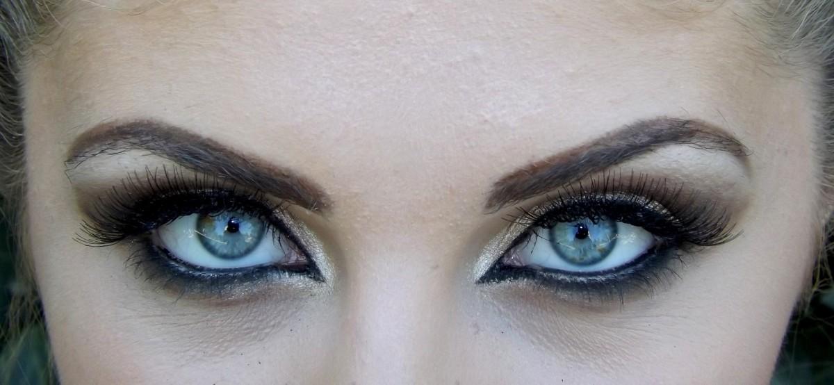 Evil Blue Eyes