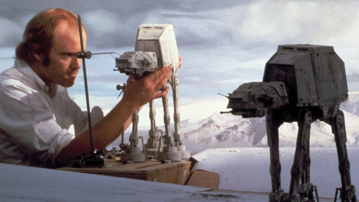 Setting up the action for the Battle of Hoth.