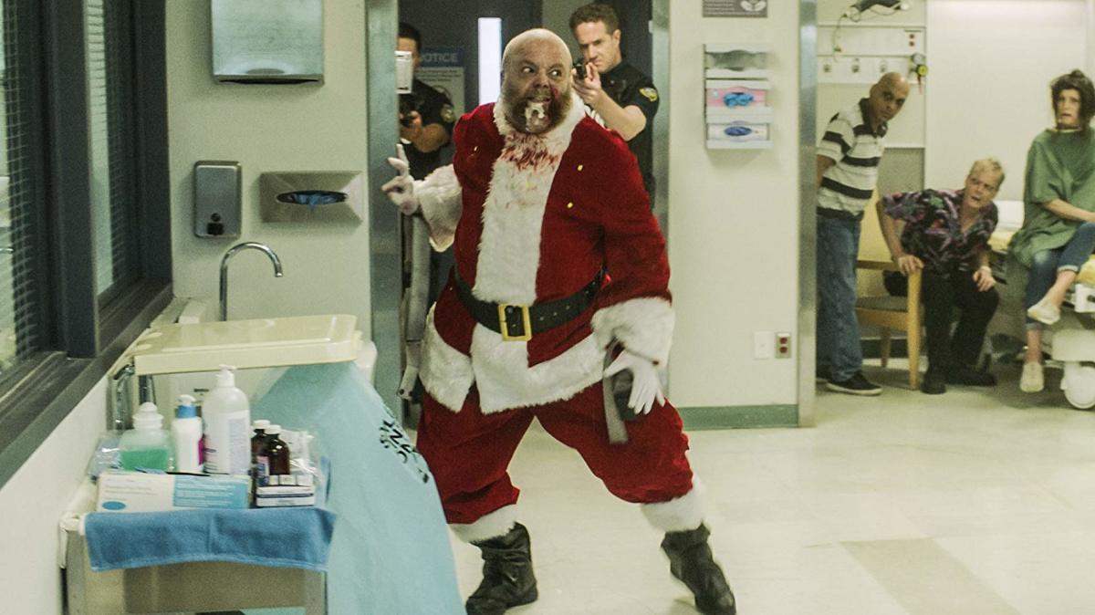 Rabid Santa is very rabid.
