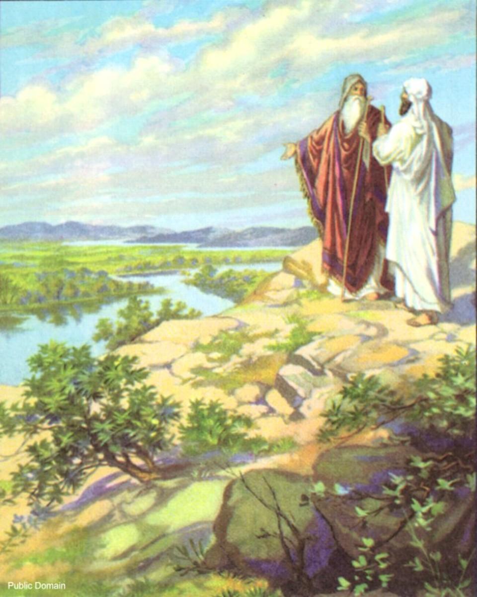 Abraham with nephew Lot