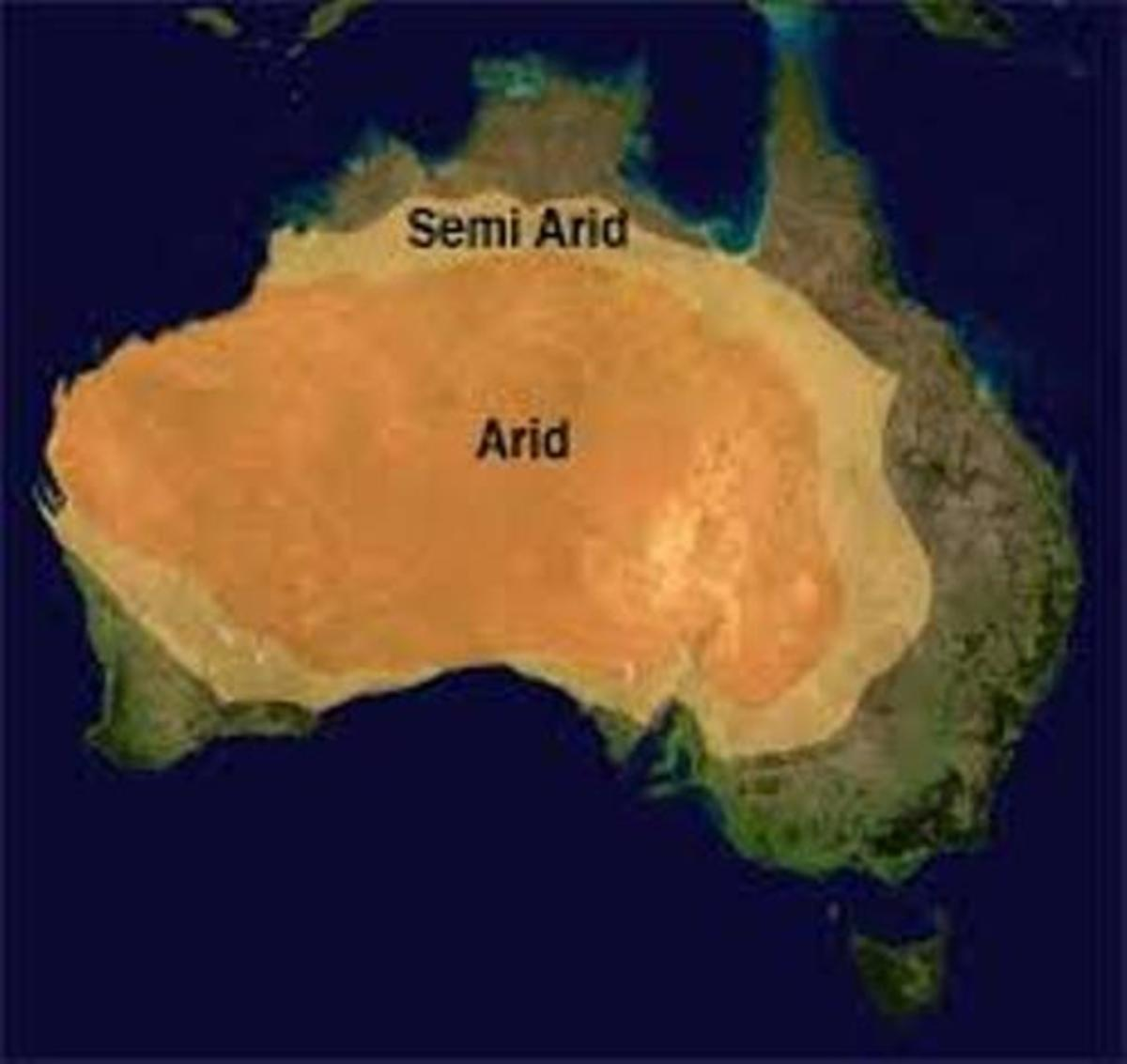 In Australia we have also some good land, but this year because it is hot and dry, there  are many fires burning, so, this is another problem that needs to be solved. We don't want this good land to become arid or desert.