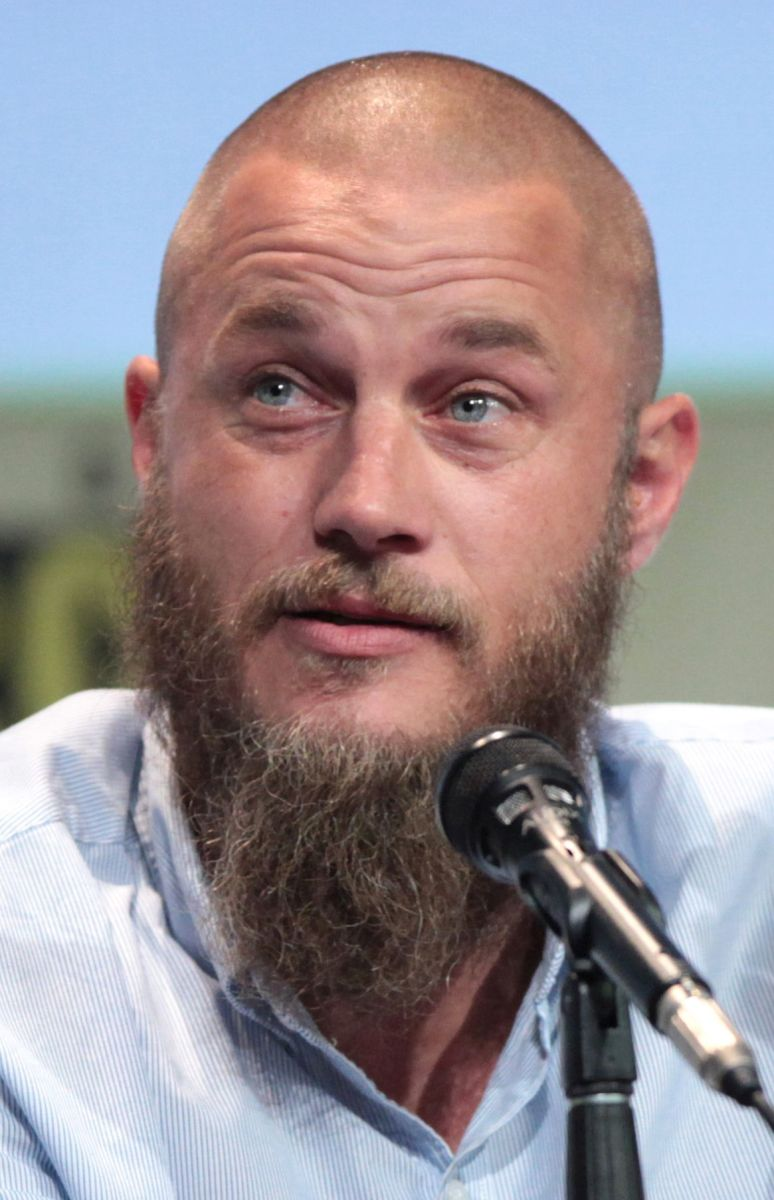Travis Fimmel playing Lagnar Lothbrok