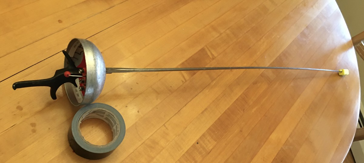 How To Replace an Electric Epee Blade