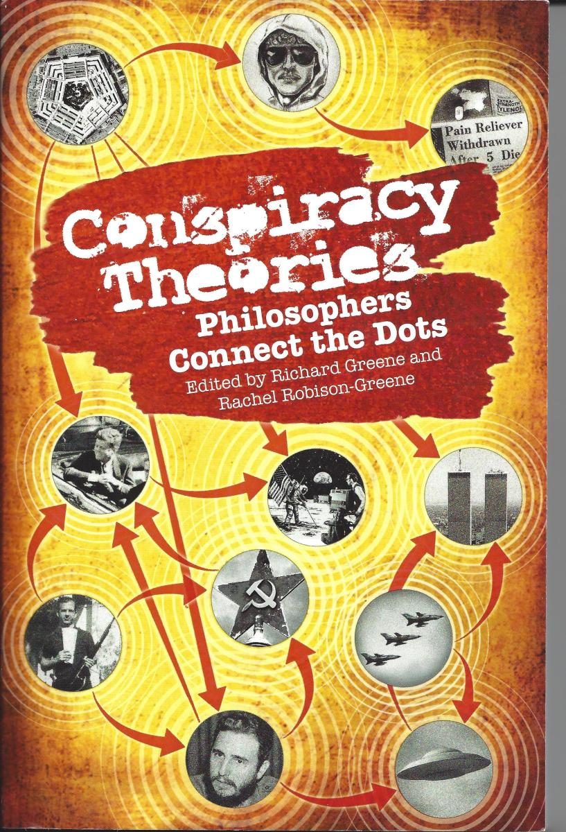 """The Cover of """"Conspiracy Theories"""" by Richard Greene"""