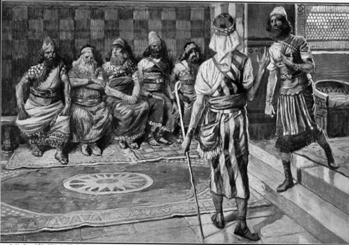 Jehu confronts Jehoshaphat
