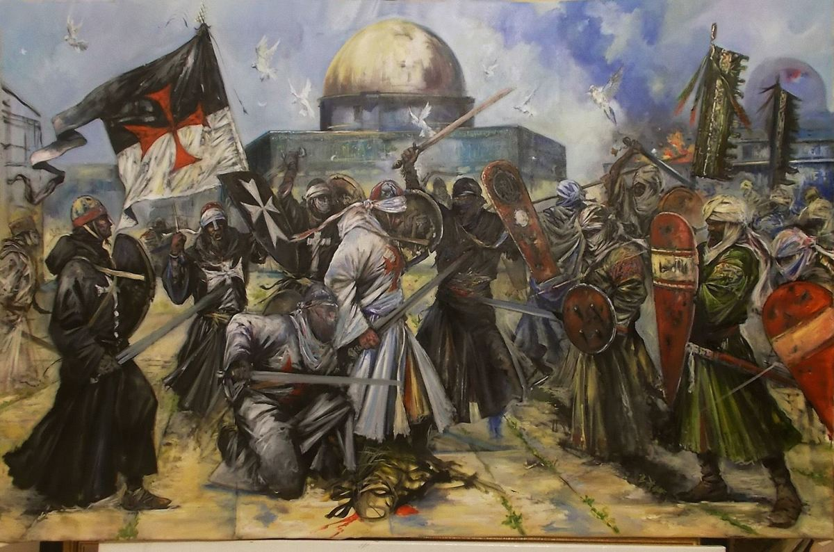 Knights Templar, Battle of Jerusalem