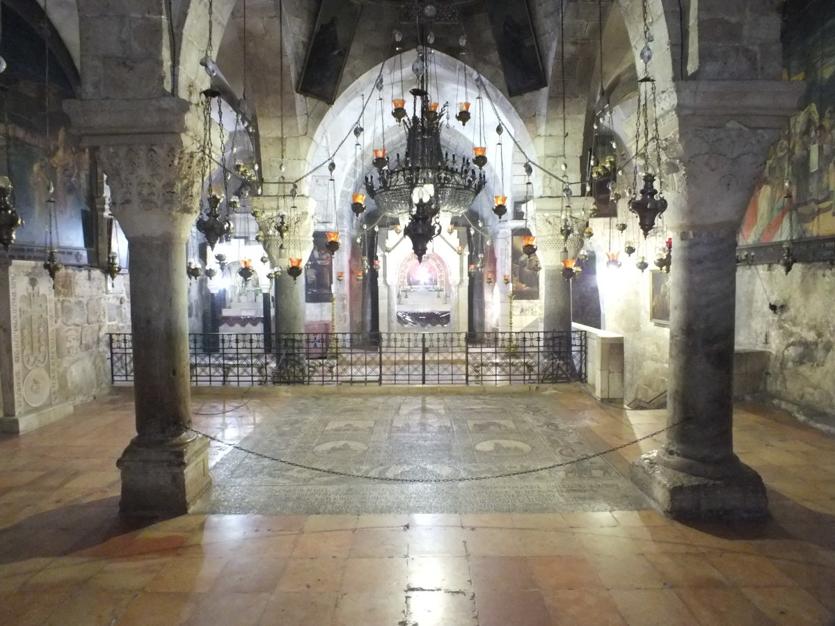 Ancient Headquarters of the Knights Templar in Jerusalem