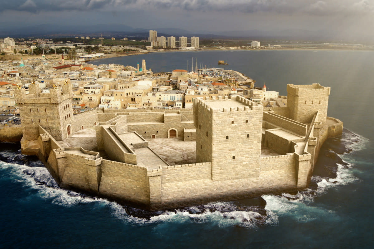 Fortress of the Knights Templar in Acre