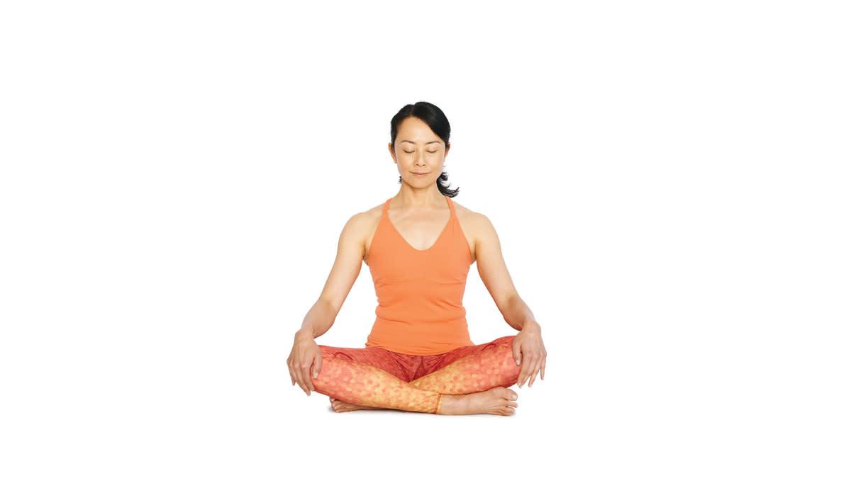 Sukhasana (Easy Cross-legged Pose)