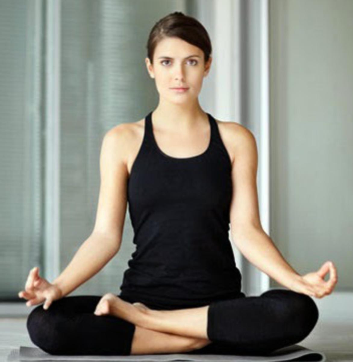 Ardha Padmasana (Half Lotus Pose)