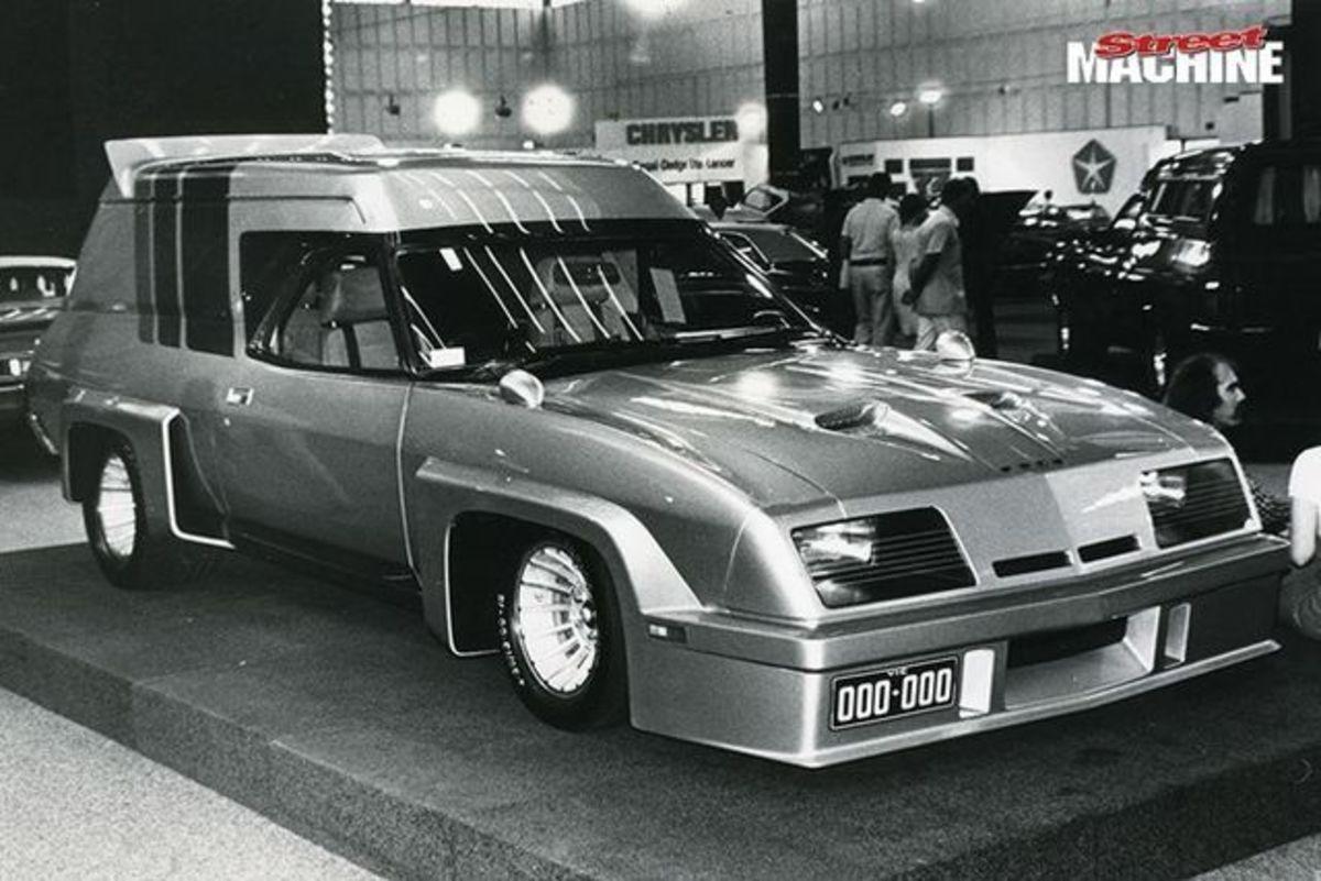 Peter Arcadipane 1977 Falcon Panel Van Concept