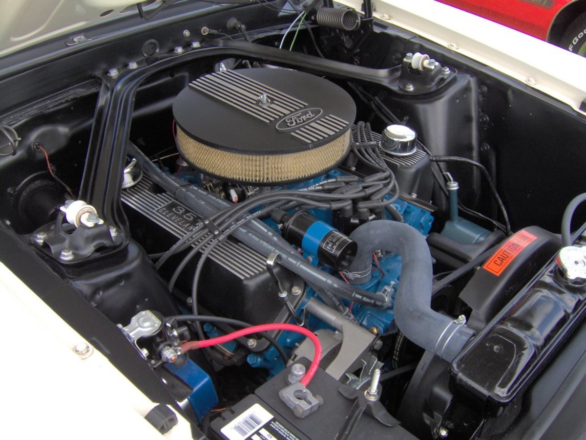 Ford 351 Cleveland in a 1969 Mustang