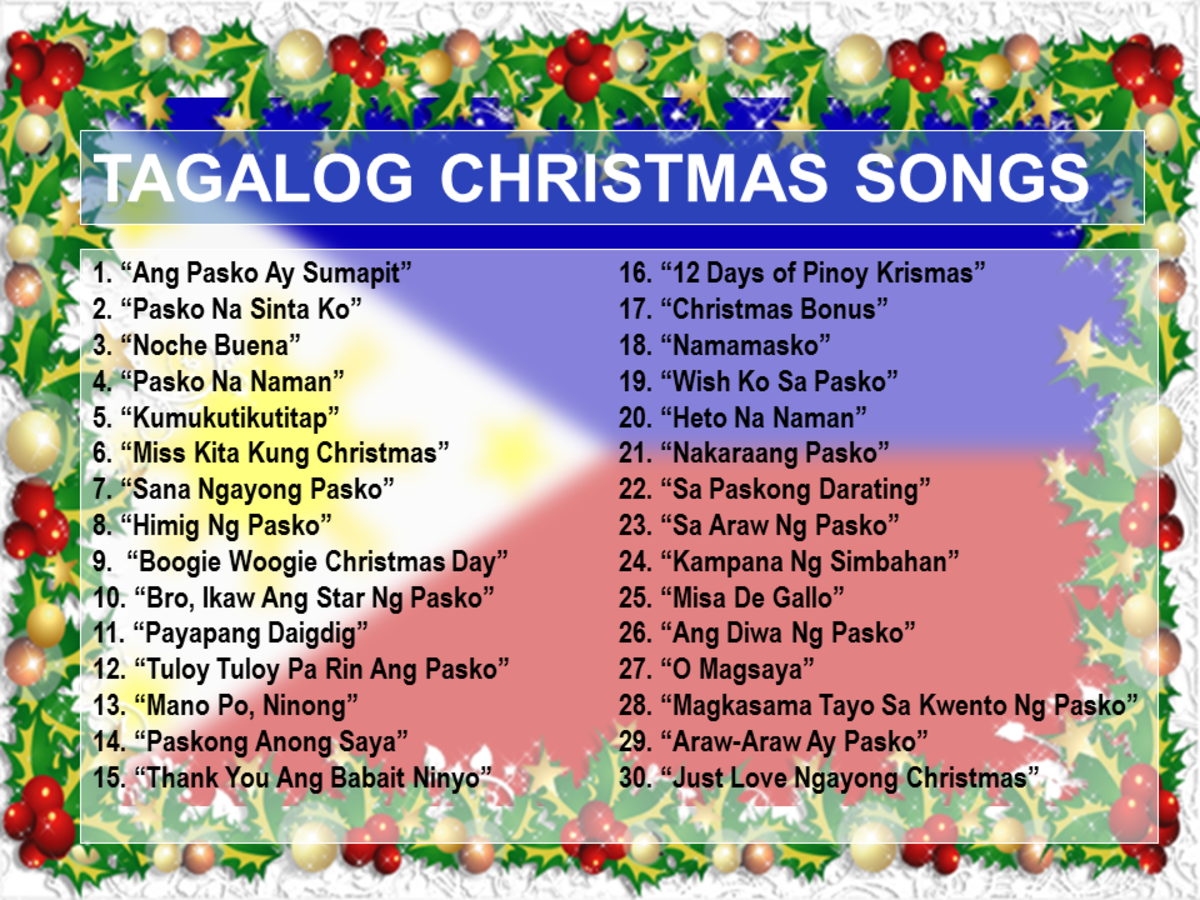 Christmas Songs Tagalog: 100 Best OPM Christmas Songs of All Time