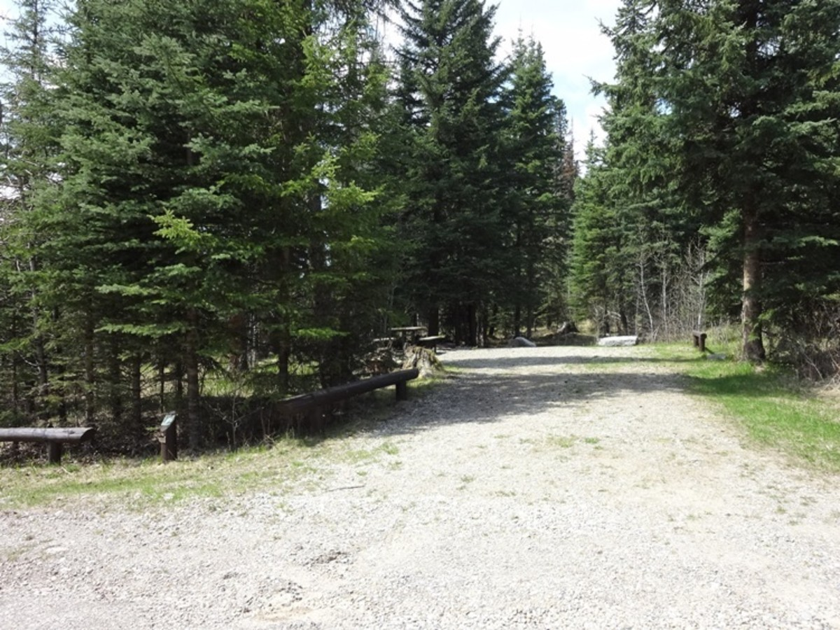 Swan Lake Campground where the group was heading on their hunting trip.