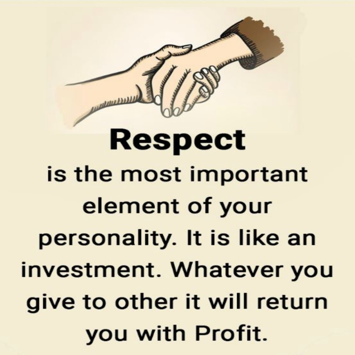Respect others for who they are