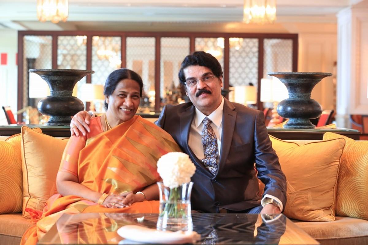 Mrs. and Mr. Dr. N. JayaPaul