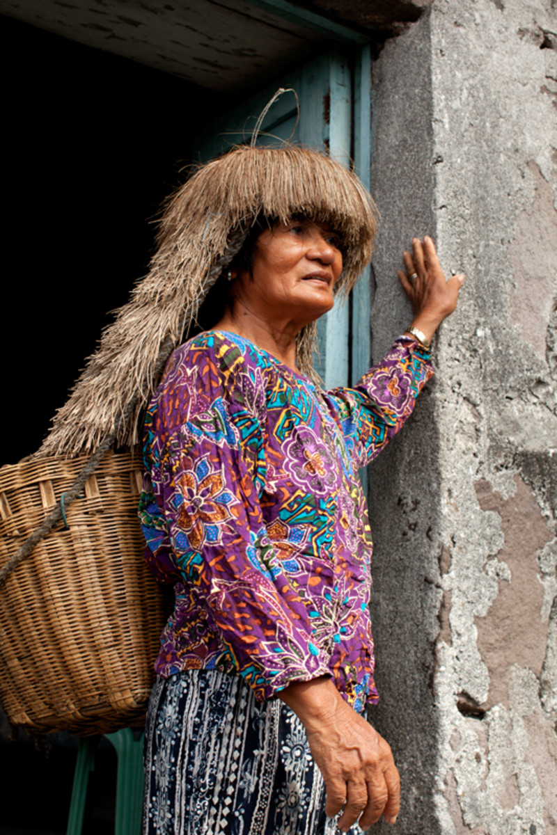 An Ivatan woman.