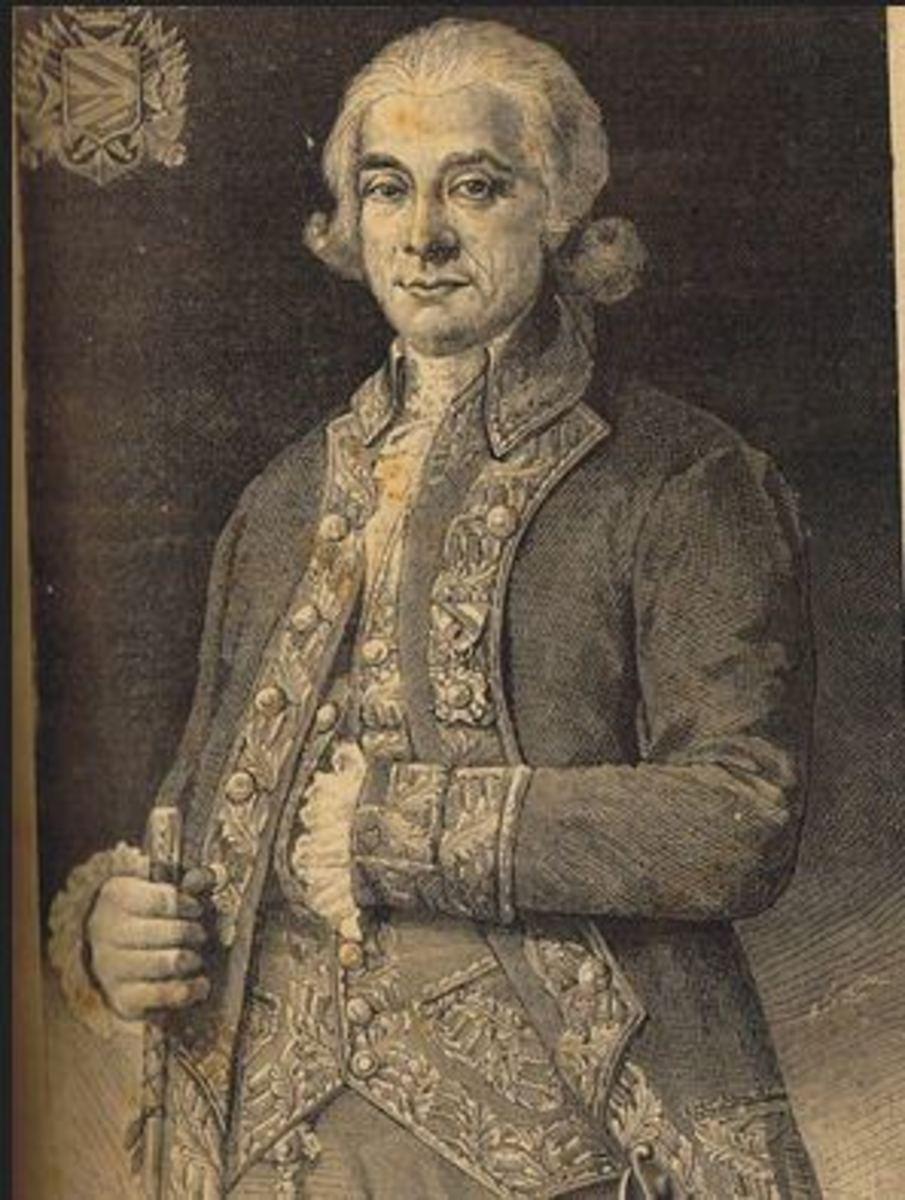 Governor General Jose Basco y Vargas.