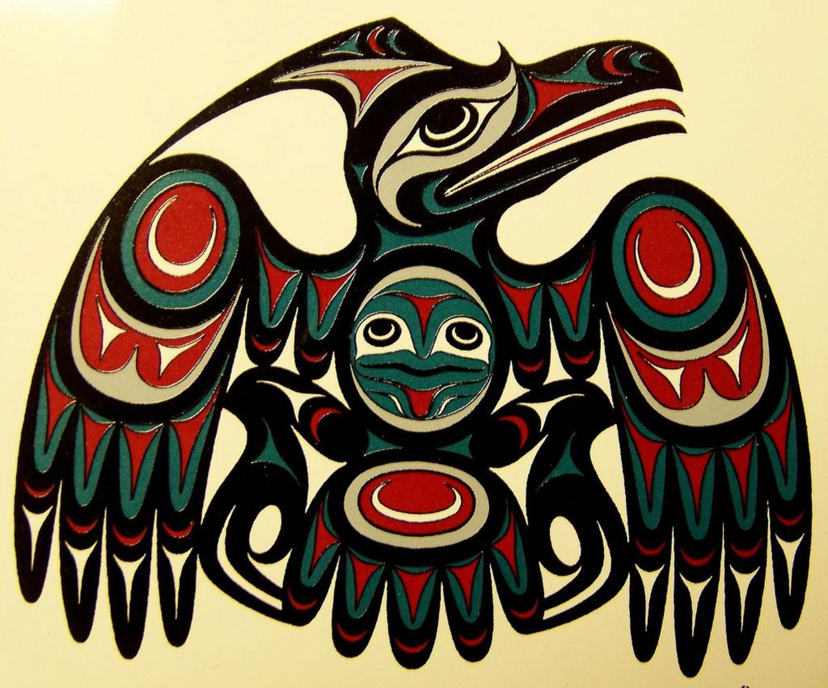 Pacific Northwest artwork of the Thunderbird.