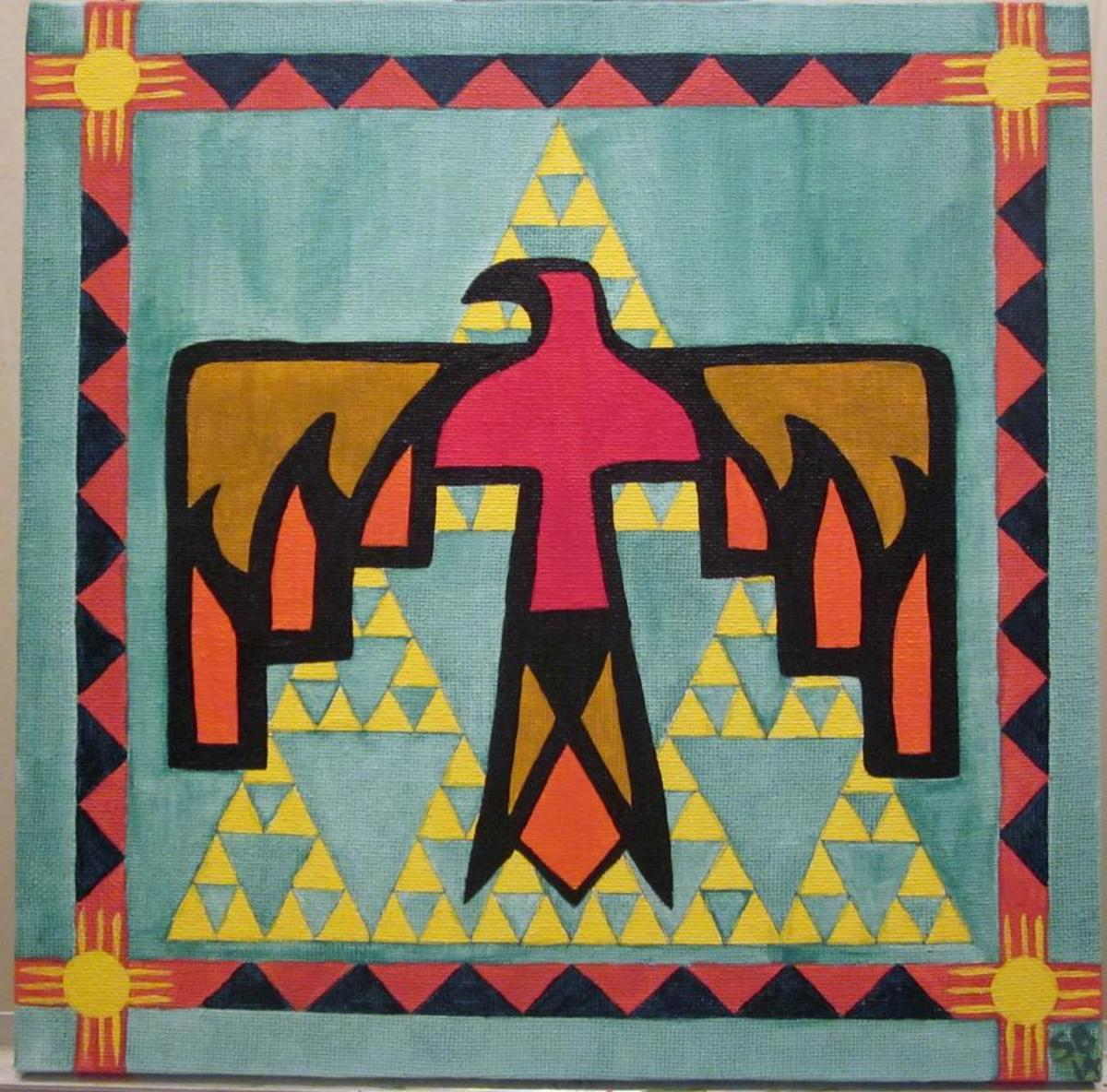 The Thunderbird in Native American Culture.