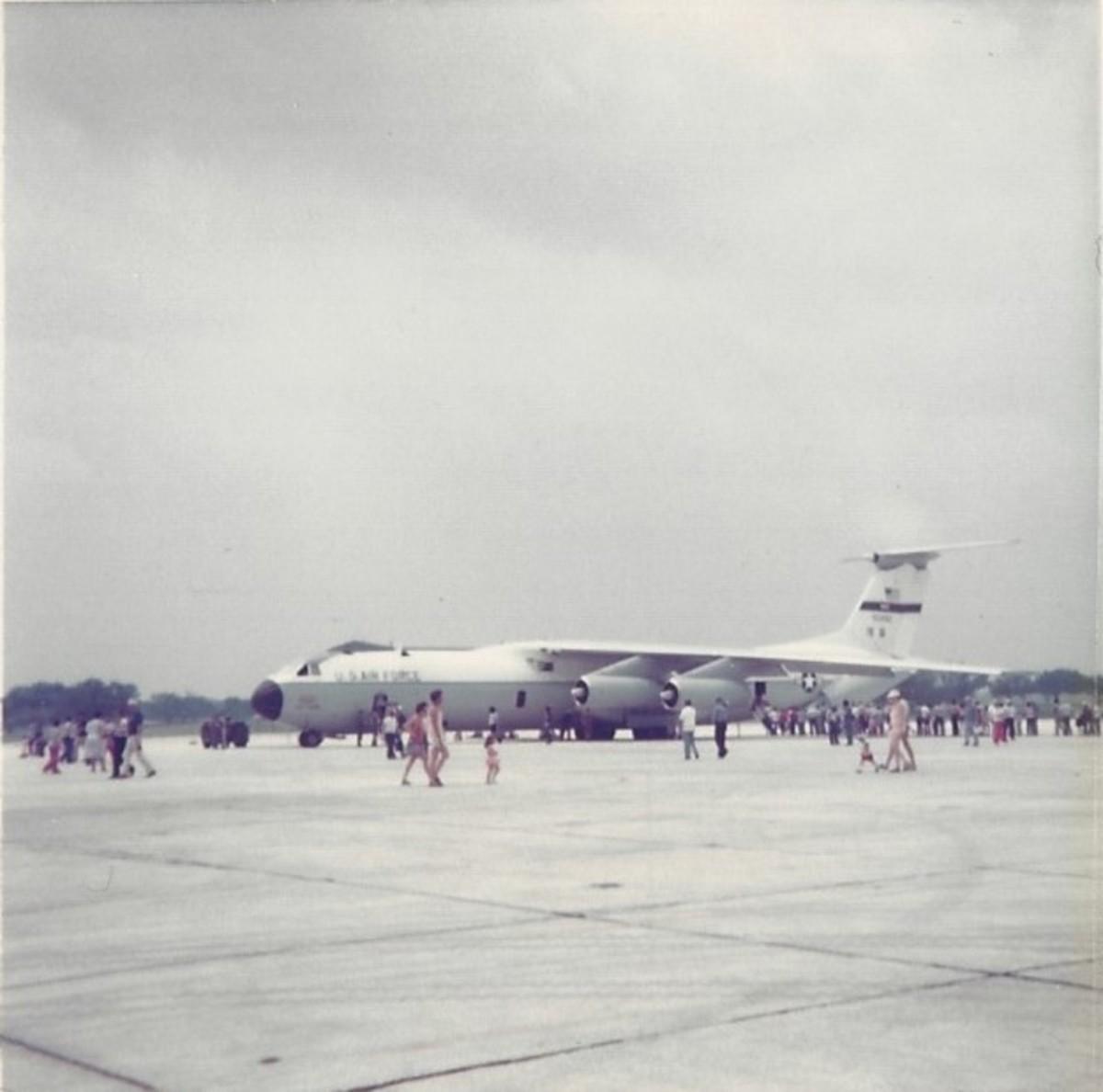 A C-141B at Randolph AFB, circa 1982.