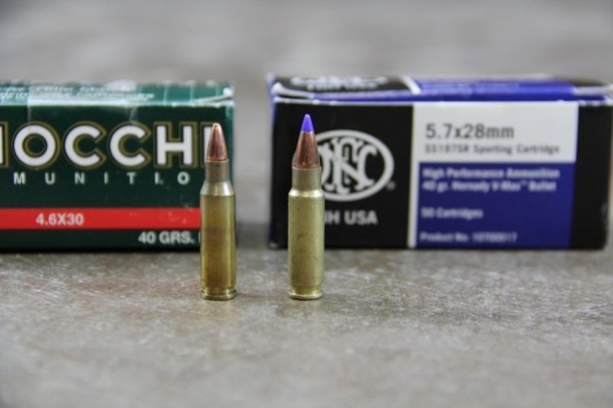 Birdie Bullets: 4.6x30mm vs. 5.7x28mm
