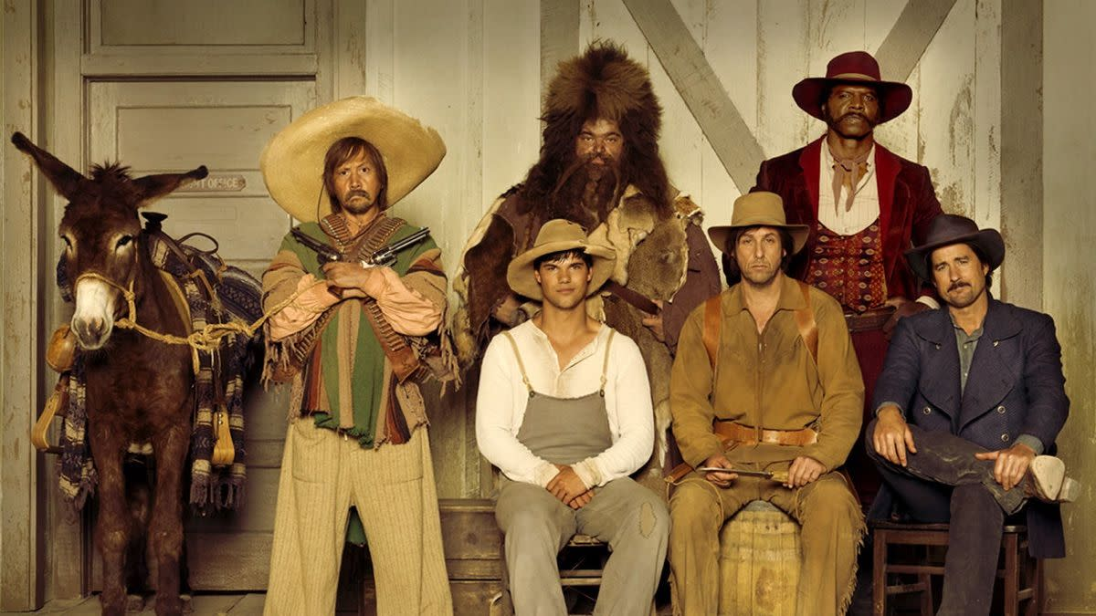 Adam and his crew on the Ridiculous 6