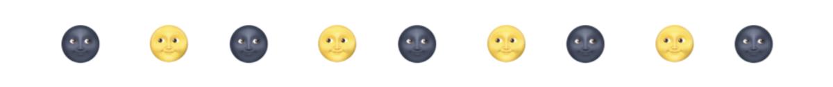 A revealing set of emojis...