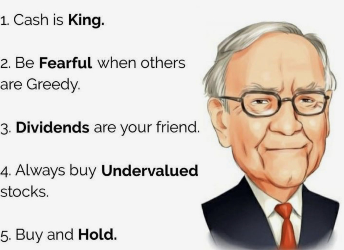 Warren Buffet Investing Wealth
