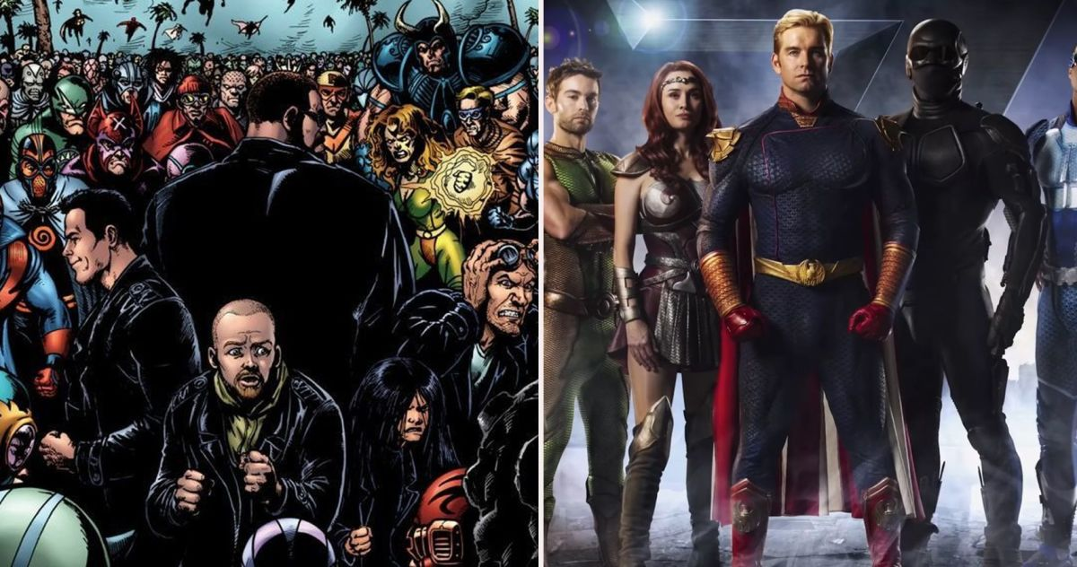 I think the comic is slightly better than the show but parts of the show are better than parts in the comic. But still overall I would the comic/graphic novel is better.