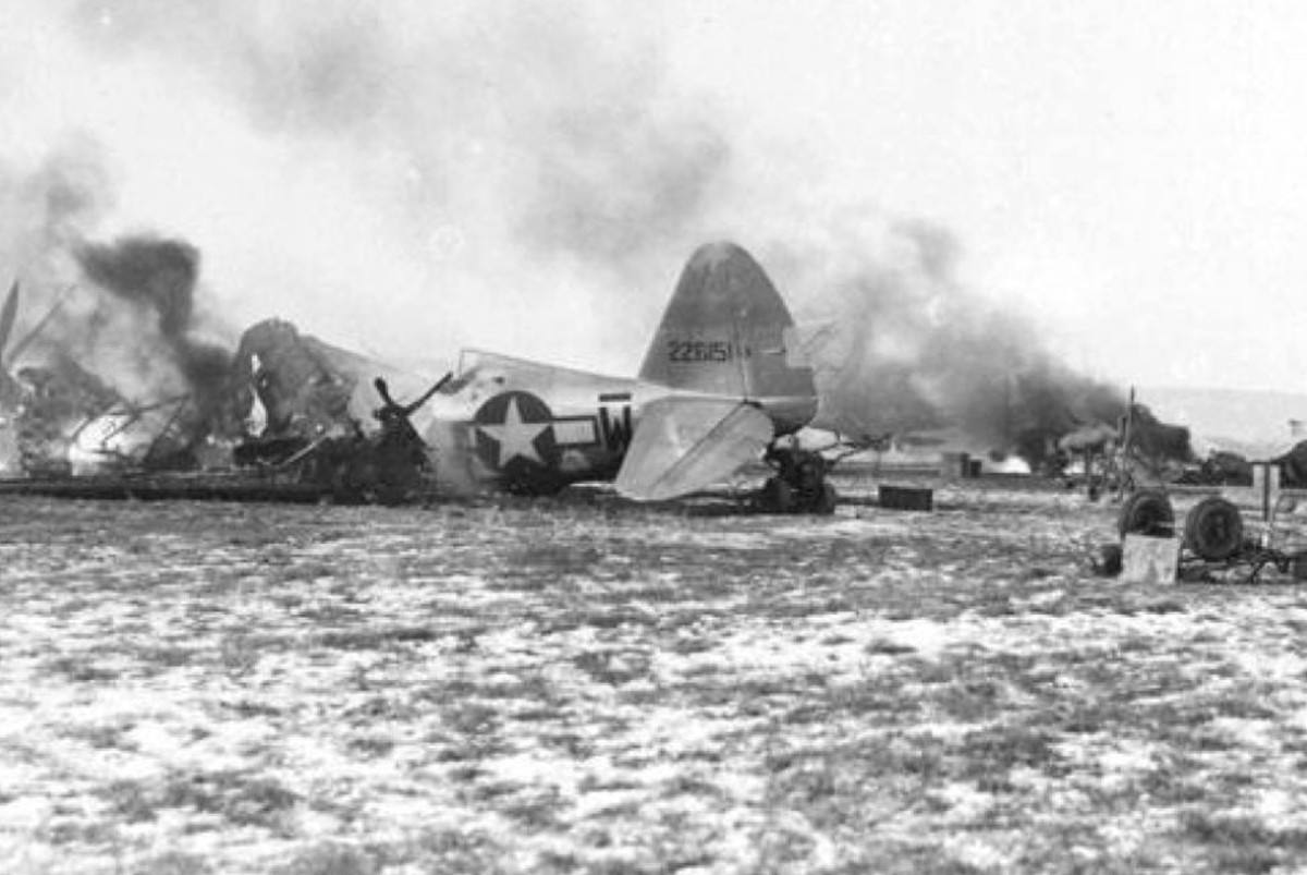 Death Ride of the Luftwaffe - Operation Bodenplatte 1945
