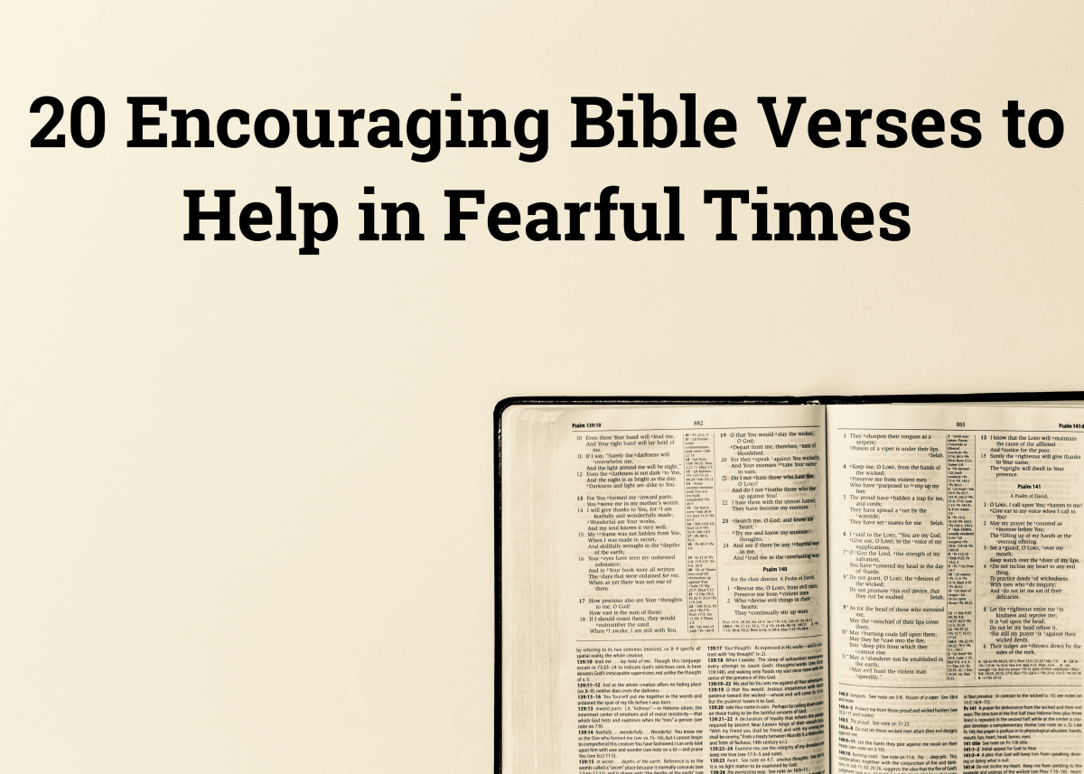 20 Encouraging Bible Verses to Help in Fearful Times