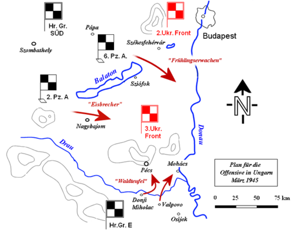 Song in the Throat of Death: the Last German Offensive in the East to Hold the Russians 'Operation Spring Awakening'