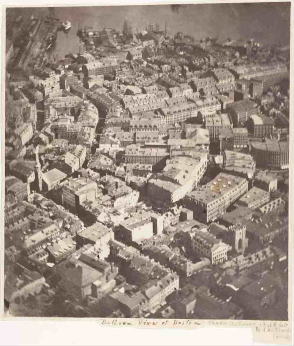 James Wallace Black's aerial photograph taken in 1860