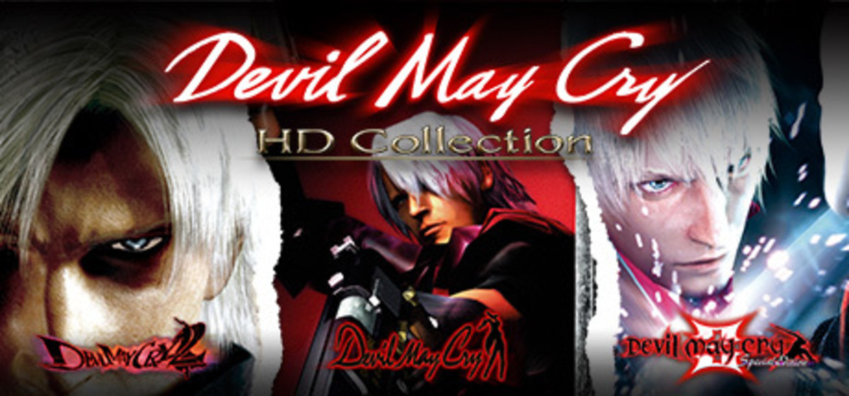 Devil May Cry video game covers of the HD video game collection. (Games 1-3)