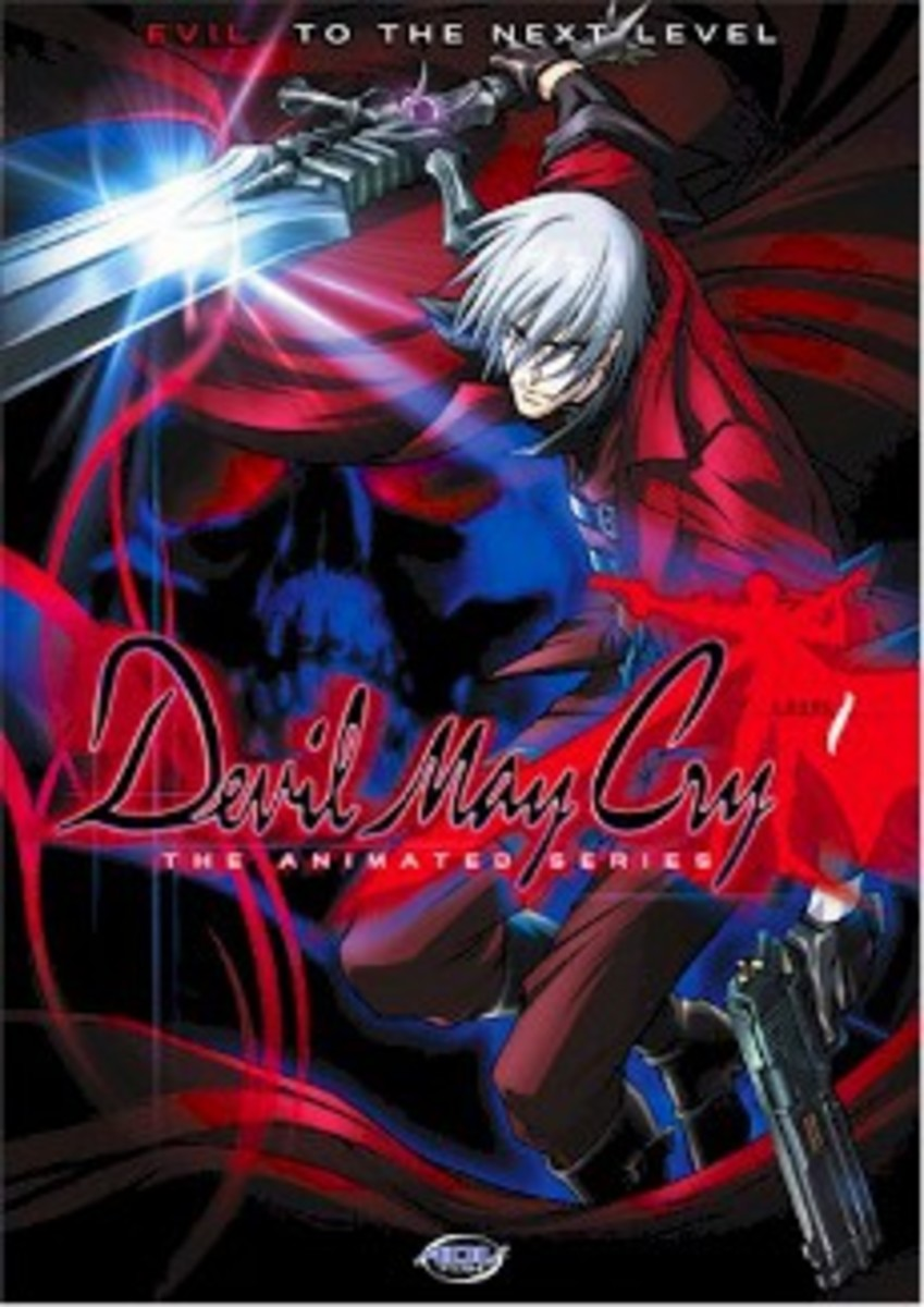 Devil May Cry anime title
