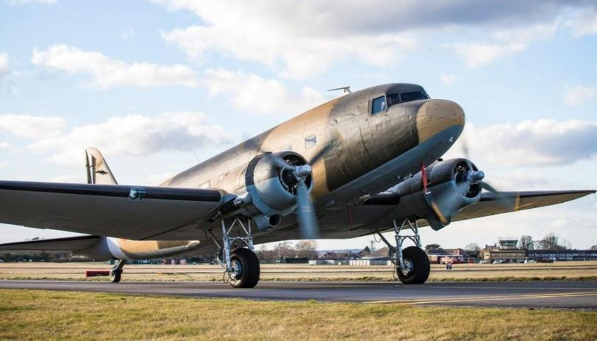 The C-47 Had a Great Love Affair in the Sub-continent