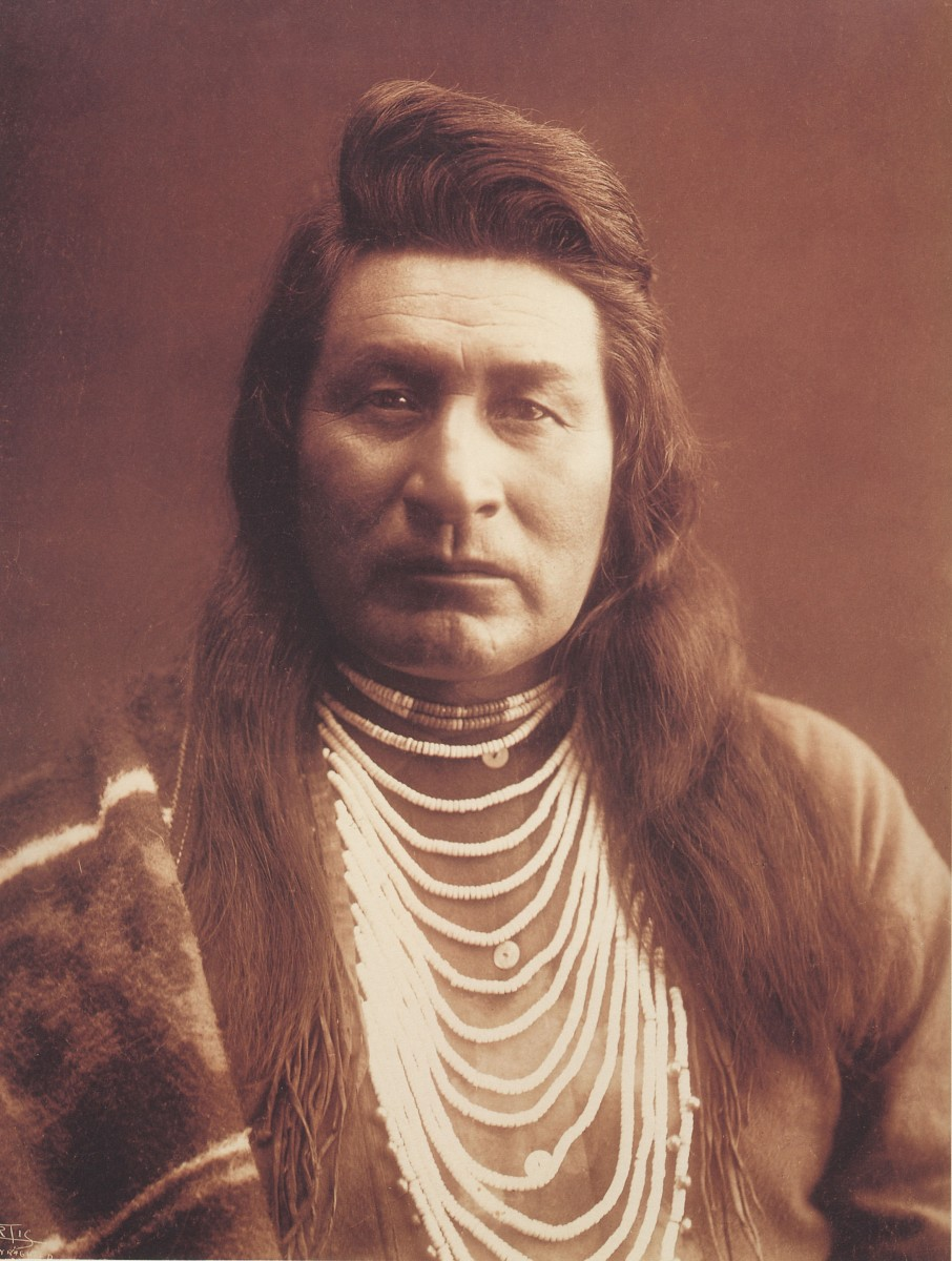 A native American Indian (1899)