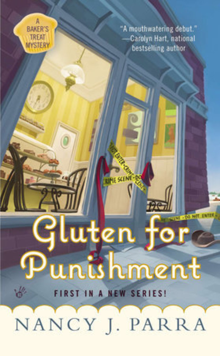 Book Review: Gluten for Punishment by Nancy J. Parra